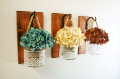 Farmhouse Style Jar Wall Decor Farmhouse By PineknobsAndCrickets
