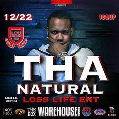 Tha Natural: Tha Natural set to perform tonight at The Warehous...