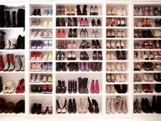 A Shoe Closet - if only!