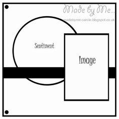 Sunday Sketch & Stamp: Challenge # 171 - Carole's Sketch