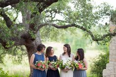 J.Standard | jstandardevents.com | Setting the Highest Standards in Event Production  | Spring Wedding | Lady Bird Johnson Wildflower Center | Wedding Portrait | Wedding Party | Bridesmaids Photo | Flowers | Bouquet