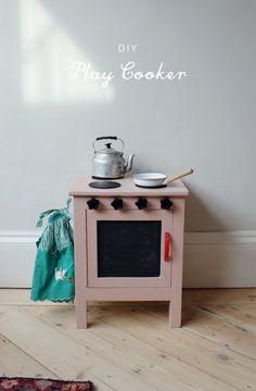 DIY play oven/stove