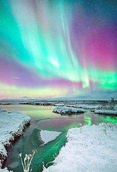 The colors of aurora the northern lights everything you need to know about seeing the sky s greatest spectacle Beautiful Sky, Beautiful Landscapes, Beautiful World, Beautiful Places, Beautiful Lights, All Nature, Amazing Nature, Aurora Borealis, Northern Lights Watch