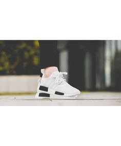 Adidas Nmd White Core Black trainers for cheap Adidas Nmd R1 Mens, Sale Uk, Shoe Sale, Sports Shoes, Asics, Trainers, Core, Sneakers, Black