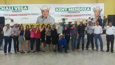 CIERRA KENY MENDOZA EXITOSA CAMPAÑA EN GOMEZ FARIAS