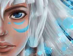 Kida, the first queen in Disney History as a main character i want her eyes to look like that