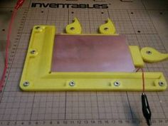 pcb holder for my x-carve. i designed this for copper clad boards. the holes should line up with your wasteboard. Cnc Router Plans, Cnc Woodworking, 3d Templates, Cnc Software, Router Projects, Cnc Parts, Laser Cutter Projects, 3d Printing Diy, 3d Printed Objects