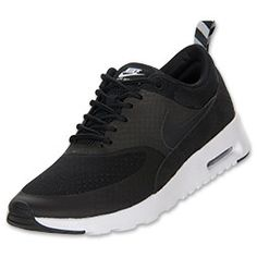 best website bedeb b625b Women s Nike Air Max Thea Running Shoes   FinishLine.com   Black Geyser Grey