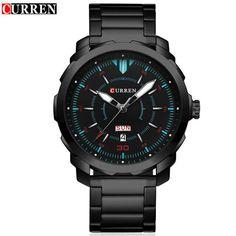 Top Brand Luxury Sports Quartz Watches Men's Waterproof Full Steel Wristwatch Fashion Casual Clock Male relogio Army Military
