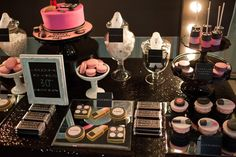 Little Big Company   The Blog: MAC inspired makeup party by Perfectly Sweet Lollie Buffet