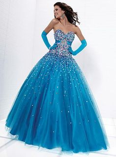 Ball Gowns for Prom 2012 Tiffany Designs Presentation Gown 16882 at frenchnovelty.com