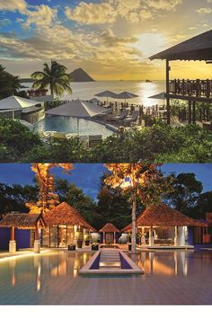 MARCH: St Lucia or Thailand