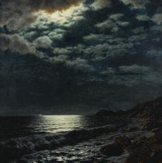 Moonlit Sea by Ivan Fedorovich Choultse on Curiator - http://crtr.co/16mz