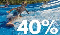 Entrades amb un 40% de descompte. www.waterworld.es