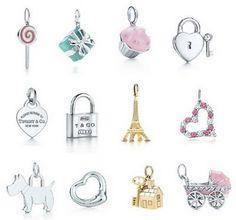 Love Tiffany  Co charms.
