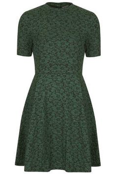 Daisy High Neck Skater Dress - New In This Week  - New In