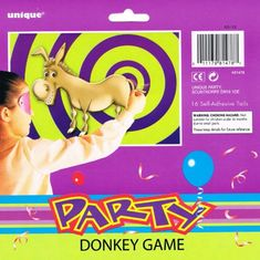 From 2.90 Pin The Tail On The Donkey Game For 16 Players
