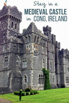 The town of Cong in Ireland is immediately enchanting, but what really captured my imagination was the medieval castle turned luxury hotel called Ashford Castle.