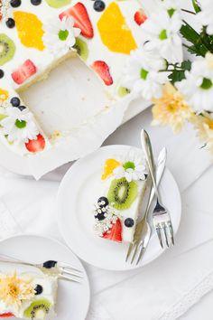 Zitrone Buttermilch Kuchen_Birdview Stück