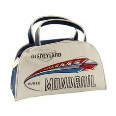 Alweg Monorail child's flight bag.