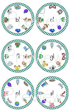 L Blends Clip Cards >> Part of the L Blends Word Work Mega Bundle