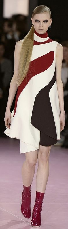 A Dior Fall 2015 dress fit for Marion Cotillard.