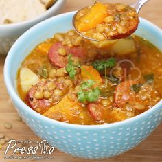 Skinny Recipes, Skinny Meals, Soup Recipes, Chili, Curry, Vegan, Cooking, Ethnic Recipes, Food