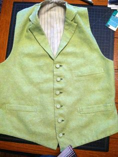 Victorian Tailoring: waistcoat project start to finish