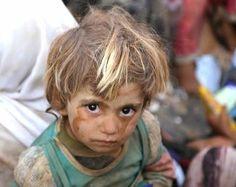 Yazidi Refugee child.