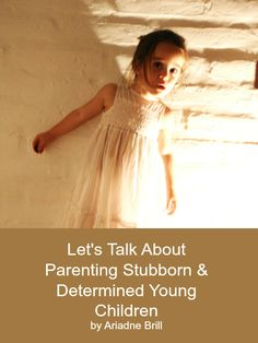 Thoughts and Ideas for Parenting Stubborn & Determined Young Children