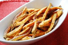 Sweet potato fries Weight Watchers Recipes With Points Plus - Low Calorie Recipes Online - LaaLoosh