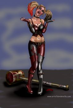 Harley+Quinn...Accused+by+Dan-DeMille.deviantart.com+on+@deviantART