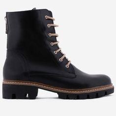 Ghete negre din piele naturala Minerva Dr. Martens, Combat Boots, Shoes, Fashion, Moda, Zapatos, Shoes Outlet, Fashion Styles, Shoe