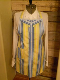 Men's/Women's Full Apron  Upcycled  New Use by creationsbydeedee, $25.00
