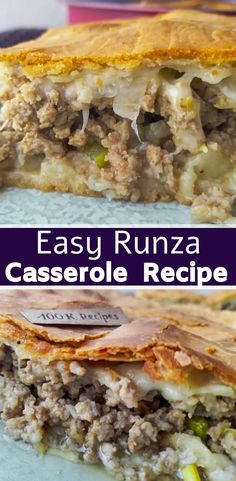 Runza casserole is a super-meat and super-cheese casserole! And vegetables give the casserole the necessary juiciness and tenderness. Two layers of dough make it very satisfying and full. Serve it additionally with fresh vegetables, herbs or a light salad. If you need to quickly prepare a hearty dinner, be sure to try this recipe. I...Read More