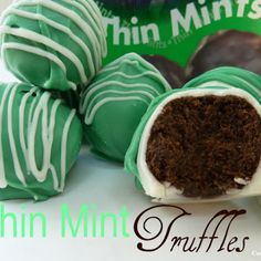 Thin Mint Truffles Recipe | Key Ingredient