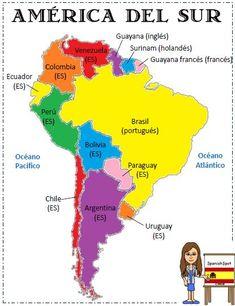 Countries Brazil Argentina Peru Chile Ecuador Colombia Guyana