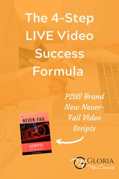 There are common mistakes I see Network Marketers, and plenty others, making in their videos all the time.  These mistakes are causing them to lose valuable and precious views, engagement and SALES.  If you want to have a whole new sense of confidence and comfort and know your LIVE videos are hitting the mark, and actually producing results...  You need to know this formula.  I'm also going to share my brand new Never-Fail Video Scripts.  Just plug in your own product or service and…