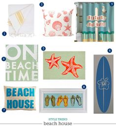 Style Trend: Beach Decorating Ideas | The Writing on the Wall