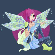 winx club | Tumblr Tecna bloomix