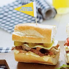Ready-to-Serve Tailgating Recipes: Southern-Style Cuban Sandwiches