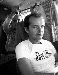 Jack Nicholson and Michelangelo Antonioni