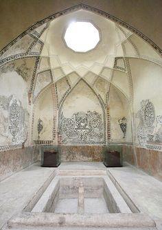 Hammam-e Vakil. Former bath house near the Bazaar Vakil, Iran