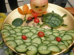 Chinese New Year, let's change a way to eat fruit:)
