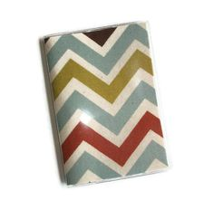 Passport Cover / Holder / Case  Chevron   Village / by Laa766, $6.50  These are great for identifying your passport quickly in your purse or suitcase... buy a couple so you can easily identify each family members passport.