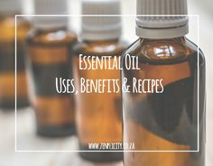 Looking for advice on essential oil uses? Find all the info you need, as well as some essential oil recipes to try at home. Simple Living Blog, Essential Oil Uses, Benefit, Essentials, Recipes, Recipies, Recipe, Essential Oils