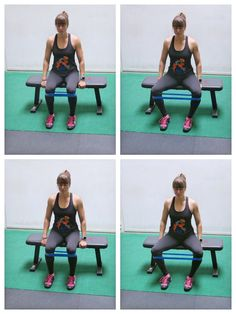 Try these 7 Glute Activation Moves You Don't Need To Get Down On The Ground For! Resistance Band Glute Exercises, Stretch Band Exercises, Mini Band Exercises, Leg Workout With Bands, Glute Activation Exercises, Resistance Bands, Work Exercises, Glute Strengthening, Resistance Workout