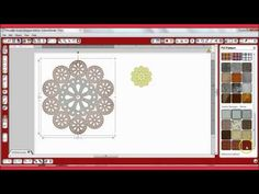 Convert PNG and JPEG doilies to Silhouette Cameo Cut Files ~ #2TinyTreasures youtube videos