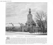 """Częstochowa 1899 Poland/Polen """"Częstochowa. - Kościół św. Barbary."""""""