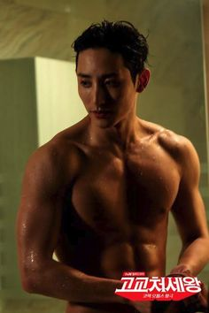 "OH MY GAAWWD... lets take a moment or maybe A HUNDRED to take in this still of Lee Soo Hyuk (이수혁) as Yoo Jin Woo in the kdrama ""King of High School"" Ep 7. DAYUM!! I NEED TO CATCH UP ON THIS DRAMA...FAST!!lol"